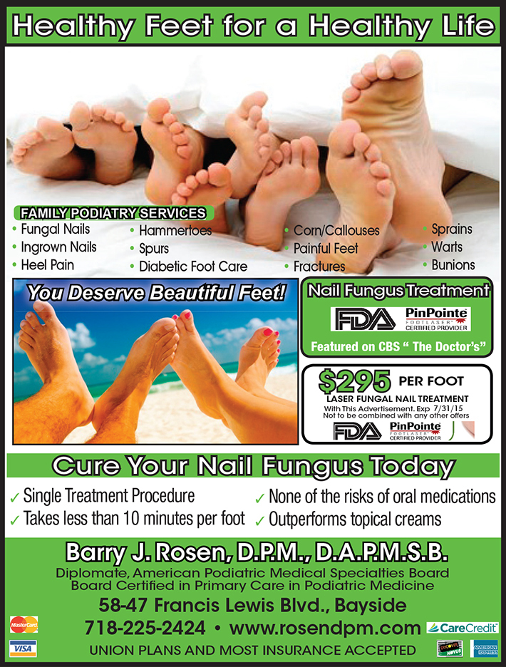 Foot Care Specials in Bayside